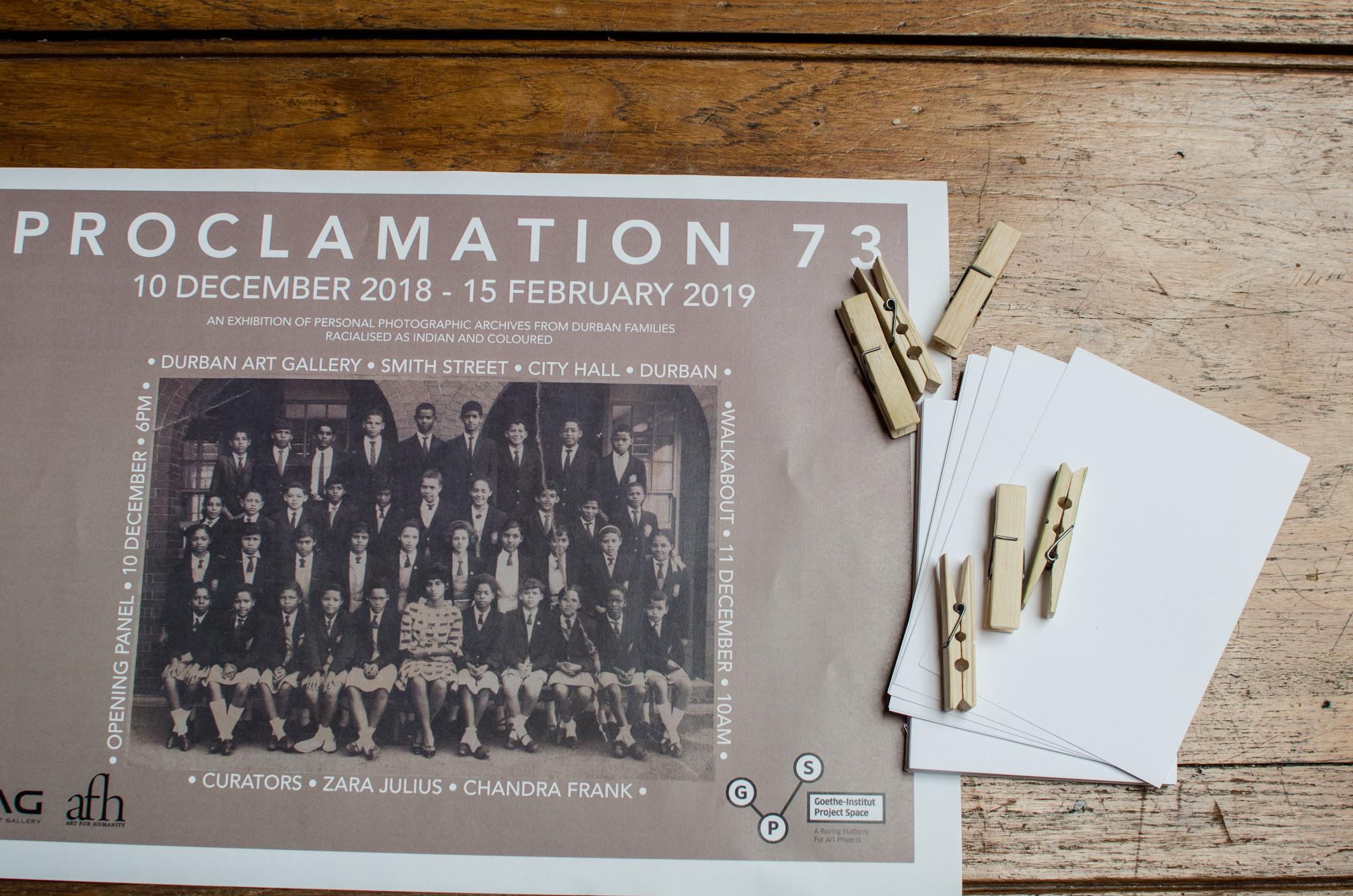 Proclamation73
