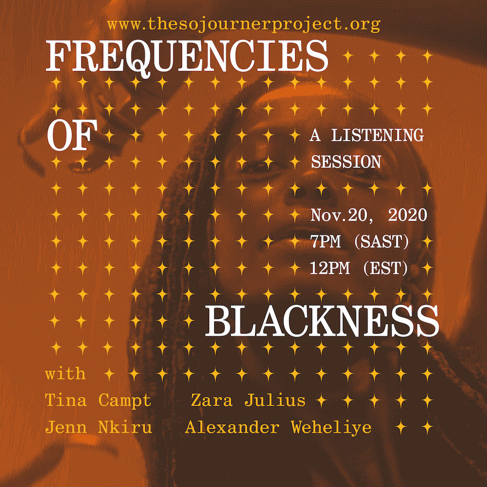 FREQUENCIES OF BLACKNESS | a listening session